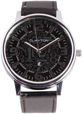 Clayton CW-006 Double Glass Analog Watch  - For Men