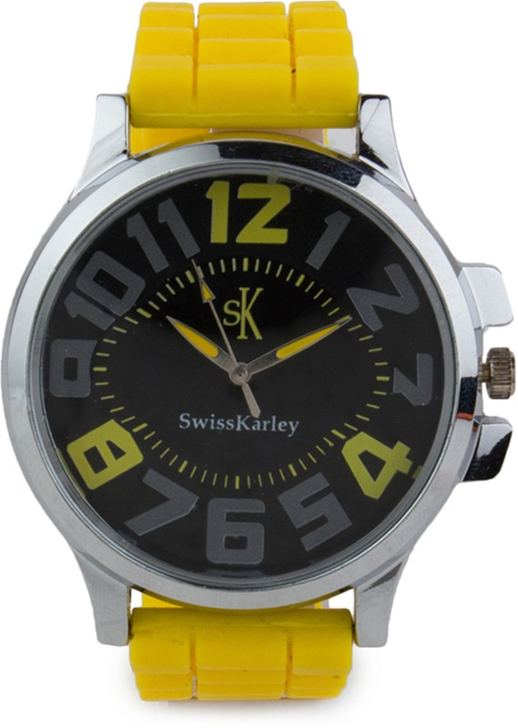 Swiss Karley Sk10001 Sk10001wt Analog Watch For Men