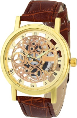 Picaaso Brown-406 Analog Watch  - For Men