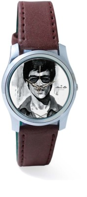 PosterGuy BigOwl Bruce Lee Graphic Illustration Women's Analog Wrist Watch-1823026136-RS2-S-BRW Analog Watch  - For Women
