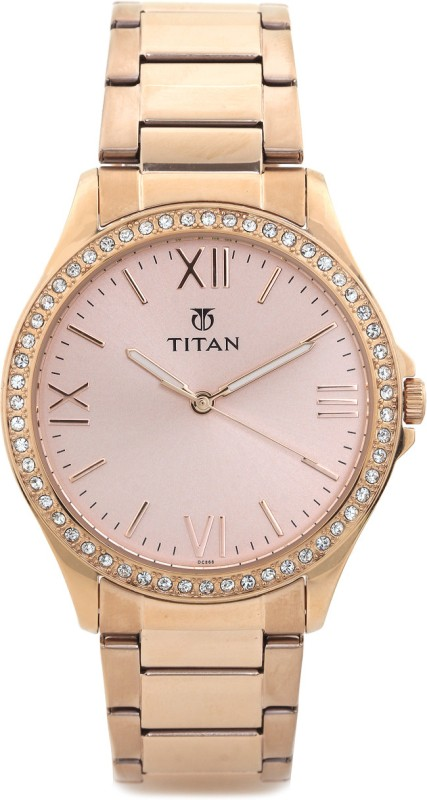 Titan NF9955WM01 Analog Watch For Women