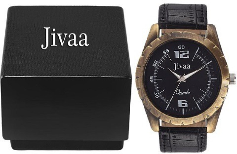 Jivaa Copper Fringe Analog Watch For Men