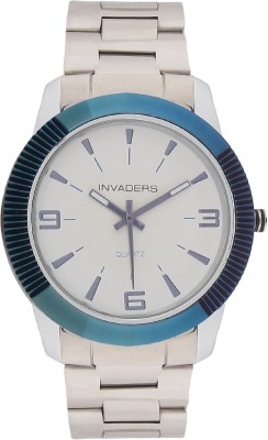 Invaders 67029-SCWHT Classic Analog Watch  - For Men