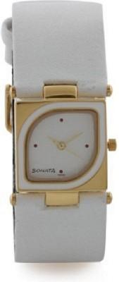Sonata yuva gold Analog Watch - For Girls, Women