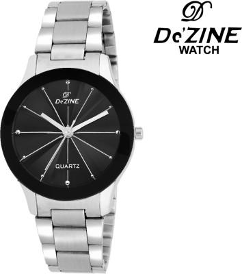 Dezine DZ-LR608-BLK-CH Analog Watch  - For Women