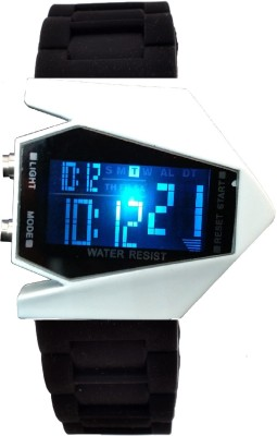 RBS Online Trading Company BlackWhite_Smart look Digital Watch  - For Women, Girls, Boys, Men