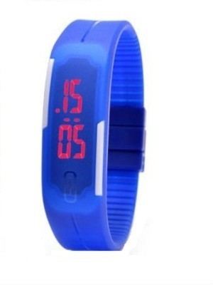 MWS MWS Rubber Magnet MWS0002 LED Digital Watch  - For Men