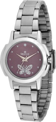 Swisstyle SS-LR1163 Bejewel Analog Watch  - For Women