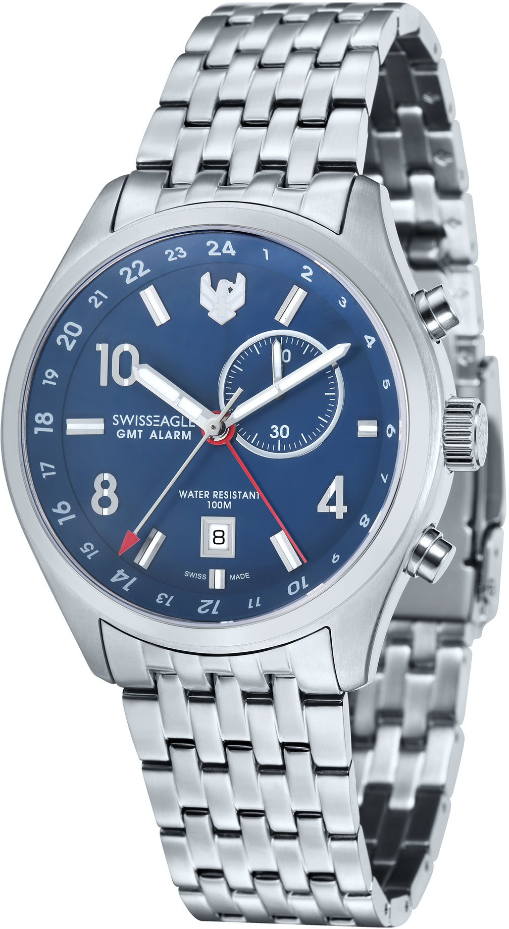 Swiss Eagle SE-9060-33 Analog Watch - For Men