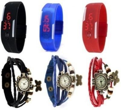 MKS style 117 Analog-Digital Watch  - For Boys, Men, Girls, Women, Couple