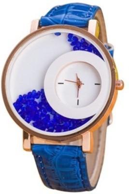 Mxre K-00135 Blue Wrangler Diamonds Analog Watch  - For Girls, Women