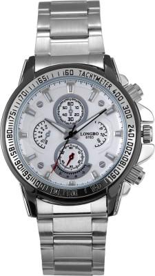Longbo HLBLK216544 Saffron Analog Watch  - For Men
