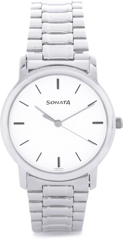 Sonata ND1013SM01C Analog Watch For Men