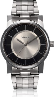 Oraio OR1515 Steel Analog Watch  - For Men