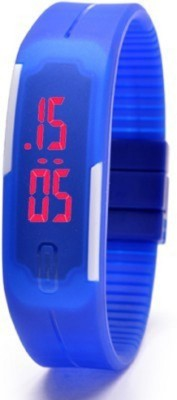 Elwin elwin blue jelly mag jelly slim Digital Watch  - For Girls, Boys, Women
