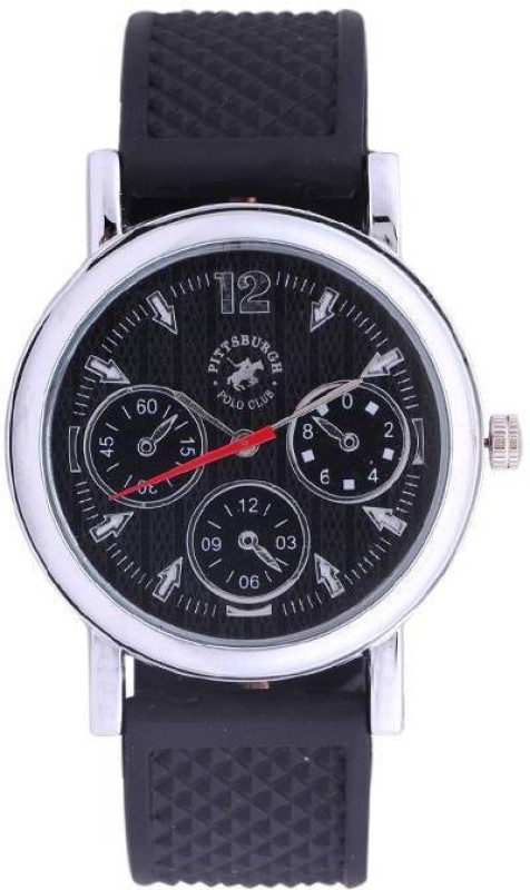 Pittsburgh Polo Club PBPC 4572001 Analog Watch For Men