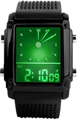 Skmei 814D1-Black Digital Watch - For Men, Boys, Women, Girls