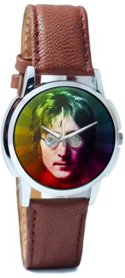 PosterGuy John Lennon Rainbow Pop Art -1743067326-RS1-W-BRW Analog Watch  - For Men