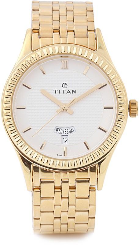 Titan NE1528YM04 Regalia Analog Watch For Men