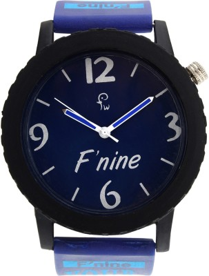 FNINE BLUE BIG MODEL STYLISH PRINTING Analog Watch  - For Boys