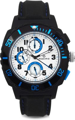 Maxima 30764PPGN Hybrid Analog Watch - For Men