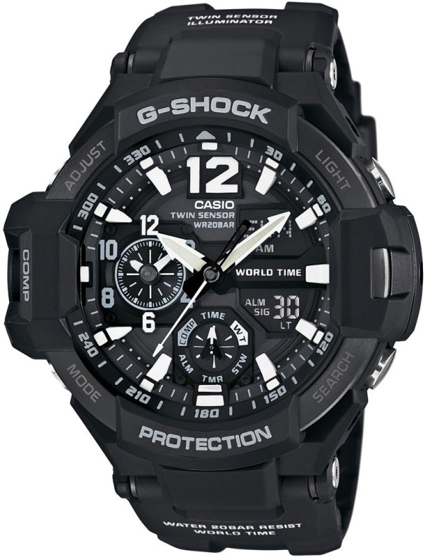 Casio G596 G Shock Analog Digital Watch For Men