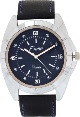 FNINE CASUAL STYLISH WATCH WITH BLUE STICHING STRAPS Analog Watch  - For Men