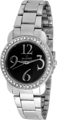 Dezine Dz-Lr905-Blk-Ch Jewel Women's Analog Watch image