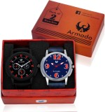 Armado AR-1431 Two Watches Combo Stylish...