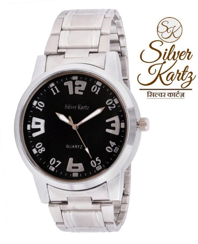 Silver Kartz WTMM 022 Analog Watch For Men