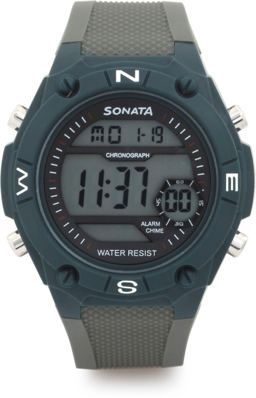 Sonata NH77033PP01 Digital Watch For Men