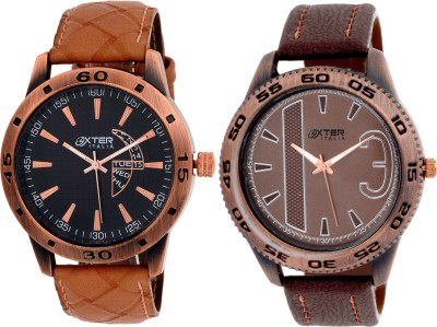 Oxter Antique Aq22-3 Combo Analog Watch  - For Men