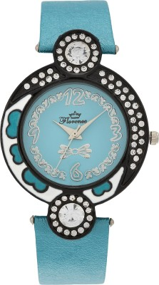 Florence F-SBL-BLK-072 Analog Watch  - For Women