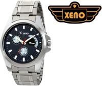 Xeno BN21 Day Date Type Chronograph Pattern Silver Metal Blue Dia