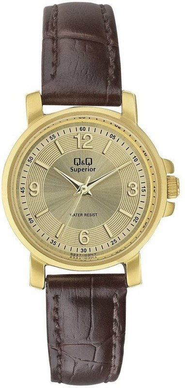 QQ S237J103NY Superior Series Analog Watch For Women