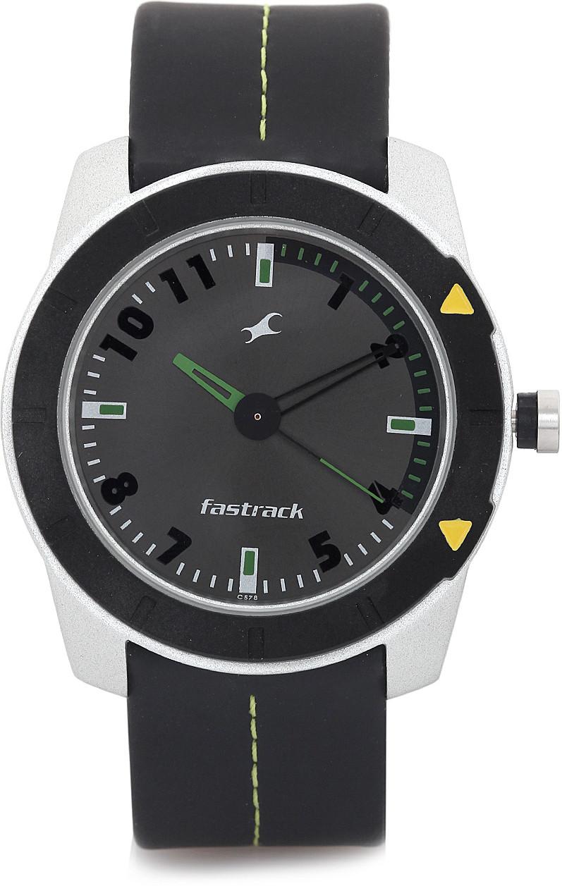 Fastrack NE3015AL02 Essentials Analog Watch - For Men