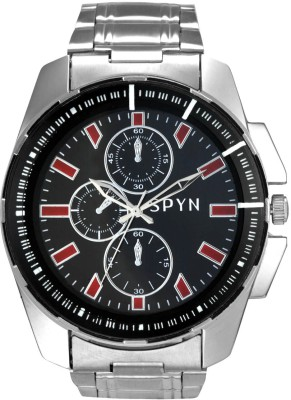 SPYN Big Dial Chronograph Pattern Analog Watch  - For Boys, Men, Girls, Women, Couple