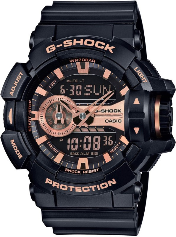 Casio G650 G Shock Analog Digital Watch For Men