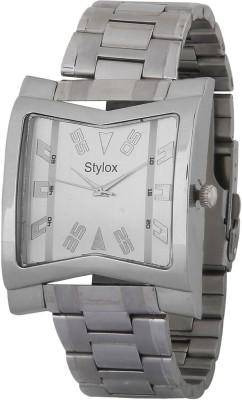 Stylox WTH-STX216 Silver Analog Watch  - For Men