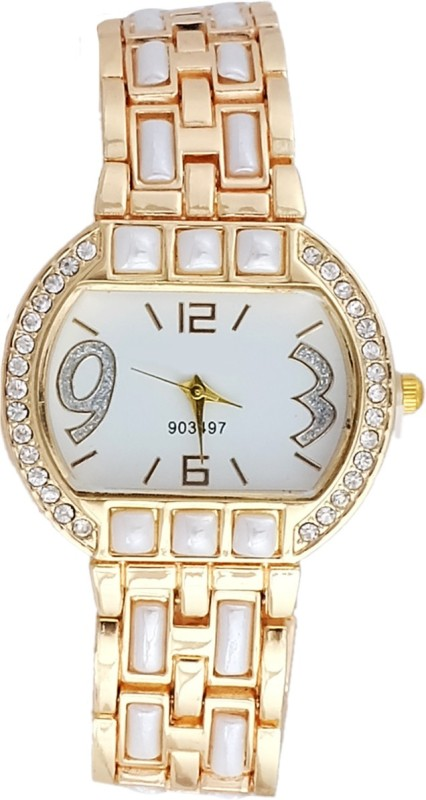 Super Drool SD0132WTGOLD Analog Watch For Women