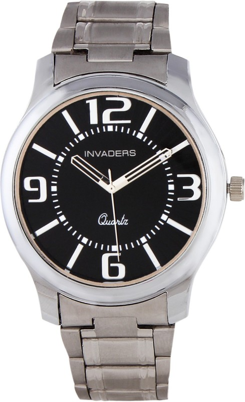Invaders 67035 SCBLK Auspicious Analog Watch For Men
