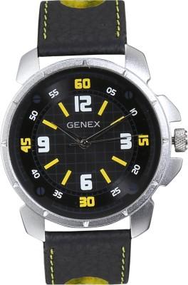 Genex GXBLK4036 Analog Watch  - For Men