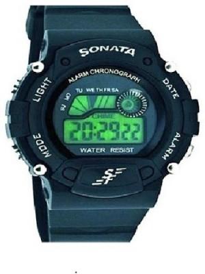 Sonata super fiber p03 sports Digital Watch - For Men