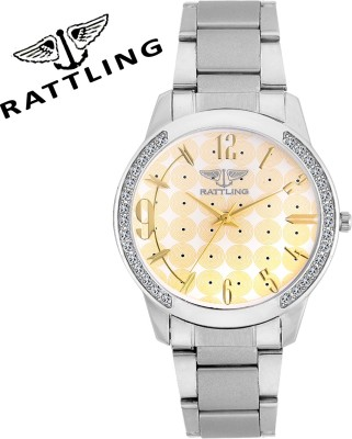 RATTLING IND-9716SM02 Analog Watch  - For Women