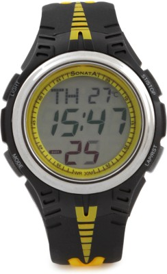 Sonata NH7965PP04J Superfibre Digital Watch  - For Men