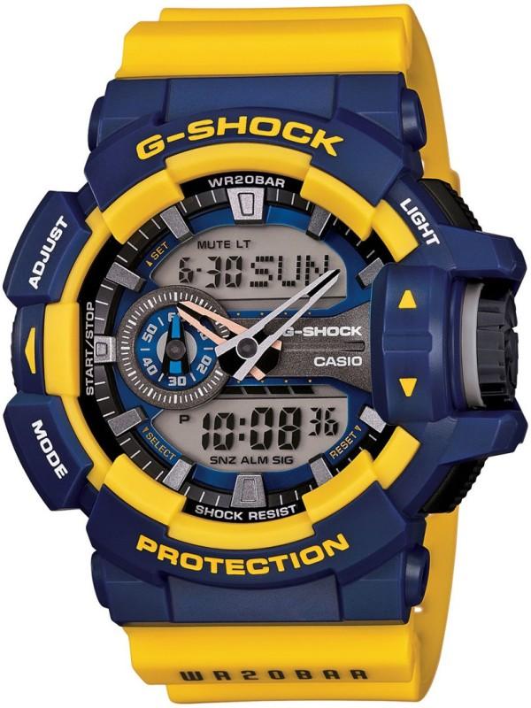 Casio G568 G Shock Analog Digital Watch For Men