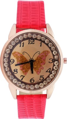 Super Drool ST2374_WT_RED Analog Watch  - For Women, Girls