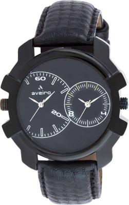 Aveiro 123BLKBLK Analog Watch  - For Men