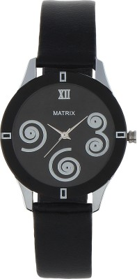 Matrix Wch-369-Bk Cutie Analog Watch  - For Women