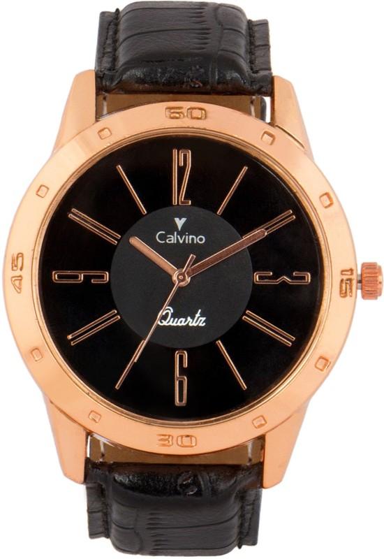 Calvino CGANS 1511494 RGBlackBlack Analog Watch For Men